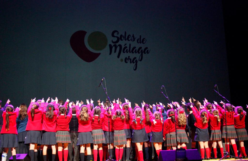 La Escolanía de Sierra Blanca-El Romeral participa por primera vez en el Festival Soles de Málaga