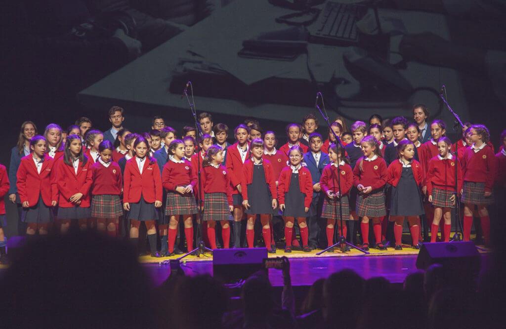 La Escolanía de Sierra Blanca-El Romeral en el Festival Soles de Málaga