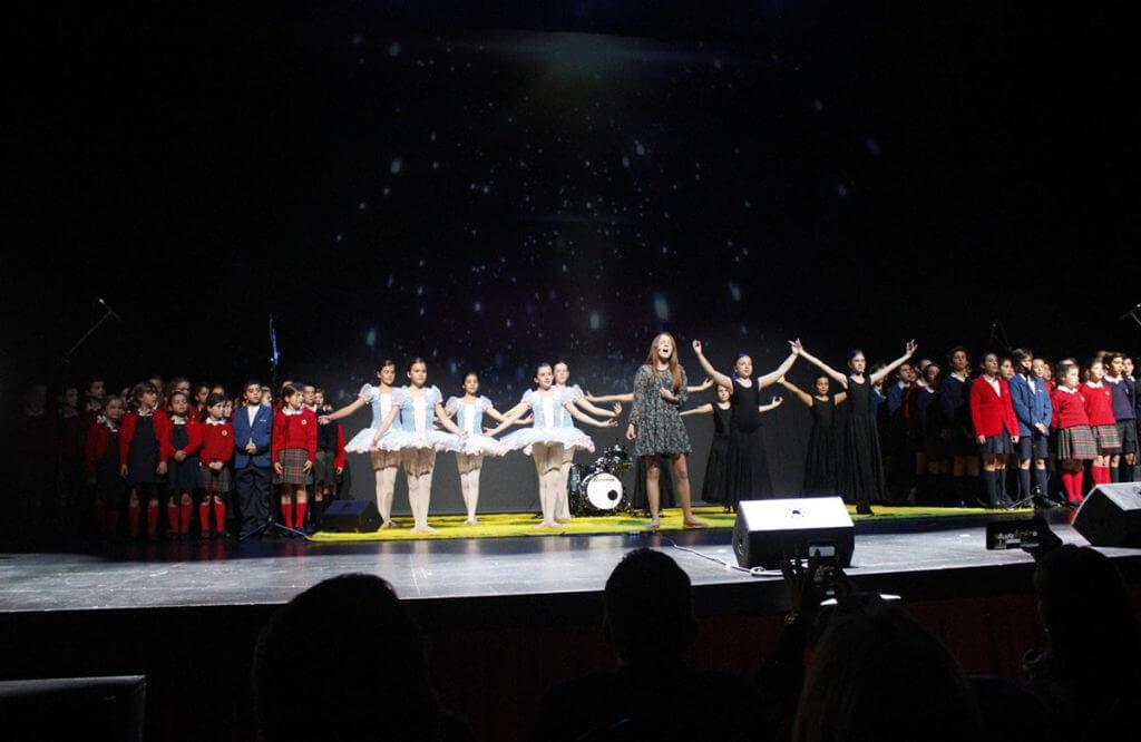 La Escolanía de Sierra Blanca-El Romeral ha participado por primera vez en el Festival Soles de Málaga