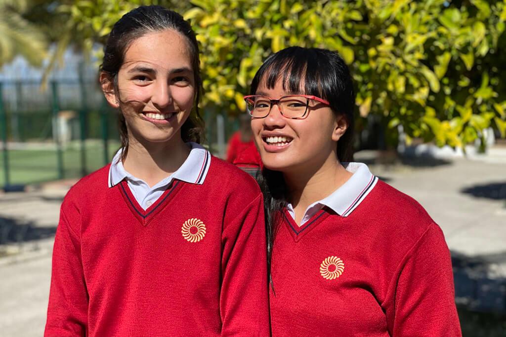 Alumnas del colegio Guadalimar Premio Extraordinario de ESO.