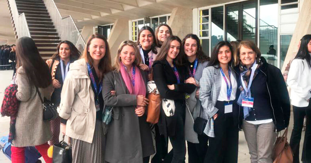 Alumnas de Las Chapas en el Attendis University Summit.