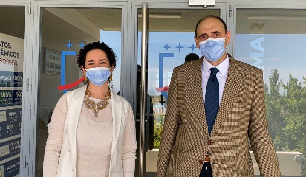 Los directores de Guadalimar-Altocastillo están deseando recibir a las familias.