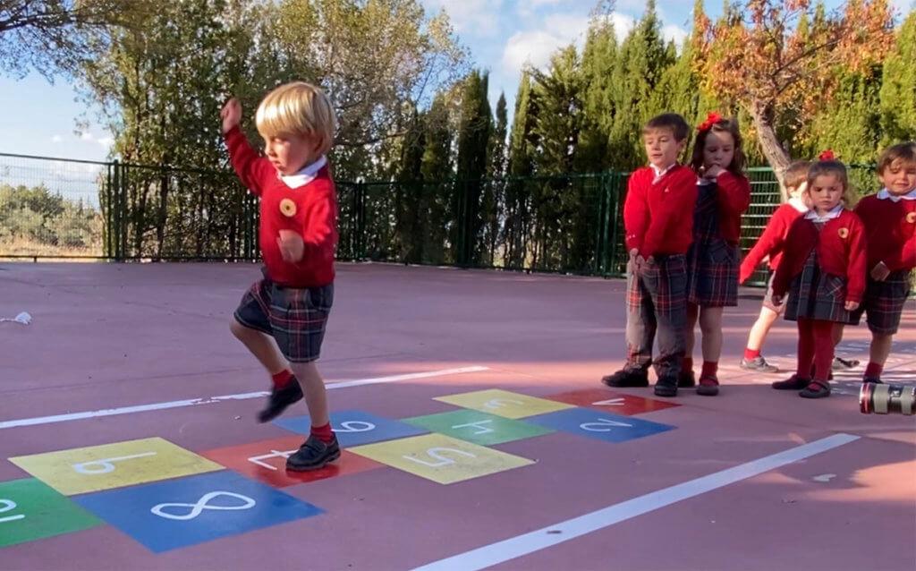 Alumnos de educación infantil de Guadalimar-Altocastillo.