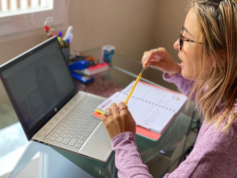 Una tutoría online en Attendis.
