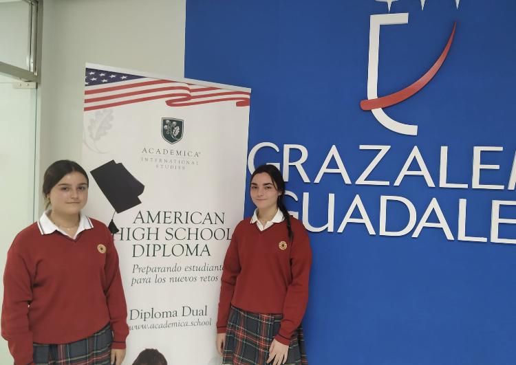 Alumnas de Grazalema del Bachillerato DUAL