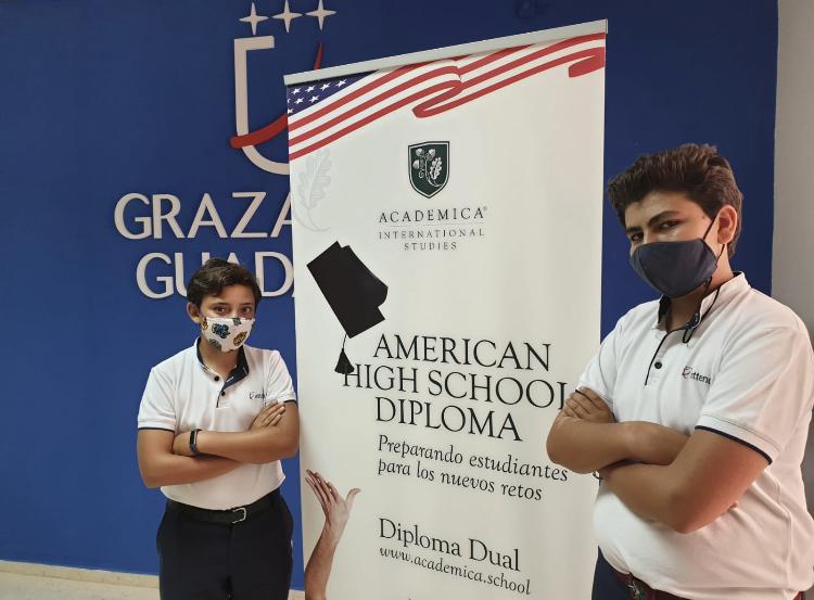 Alumnos de Guadalete del Bachillerato DUAL