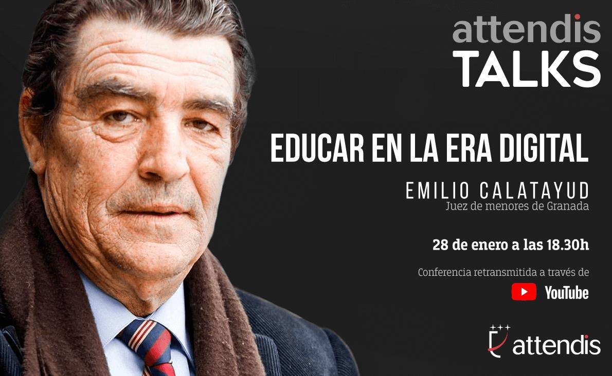Attendis Talks con Emilio Calatayud