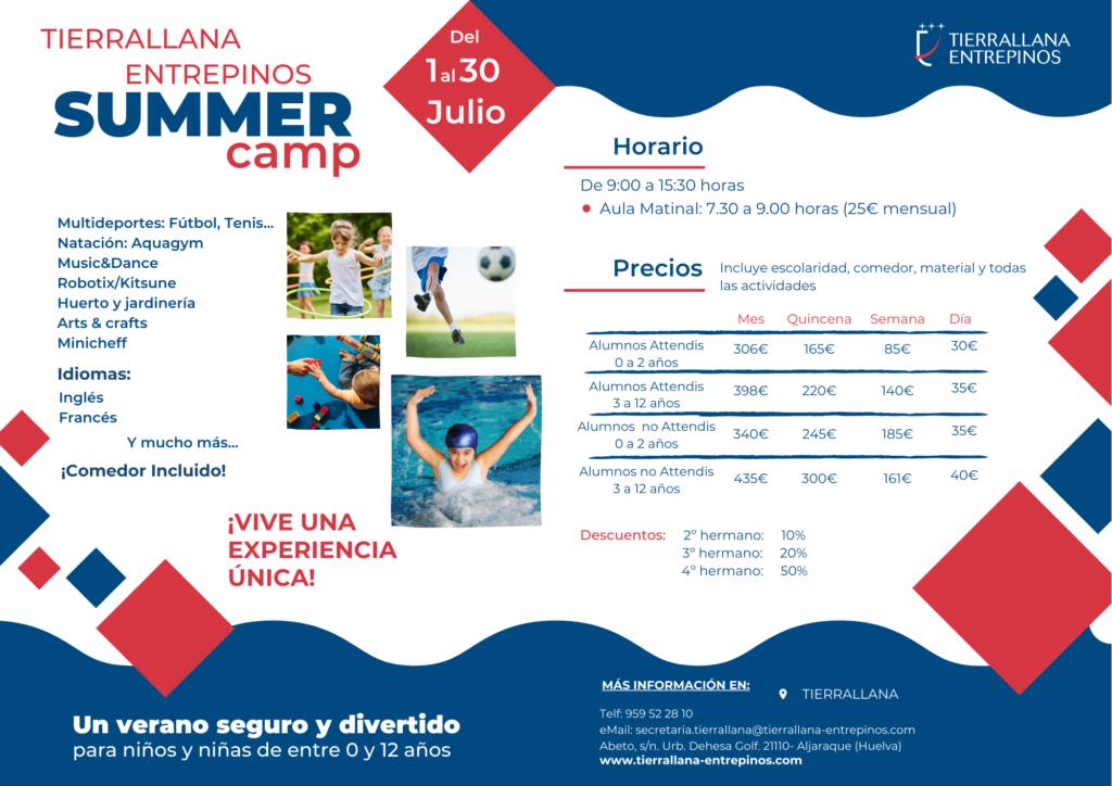Summer Camp Huelva 2021