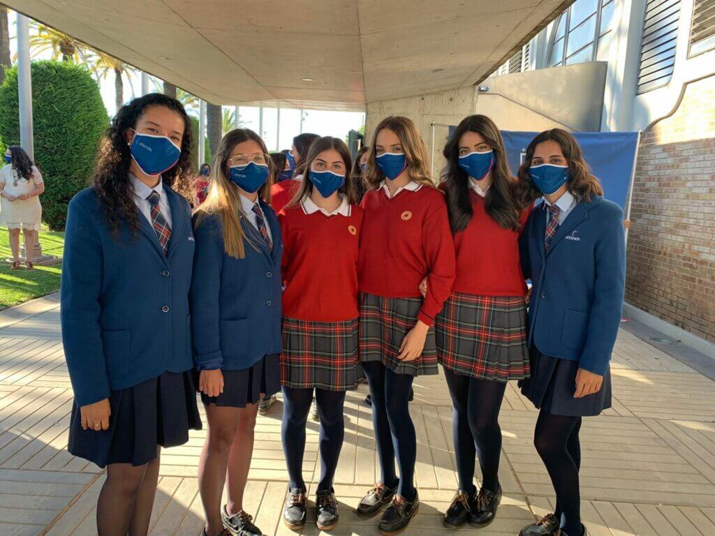 alumnas Becas 2ºBachillerato Tierrallana-Entrepinos