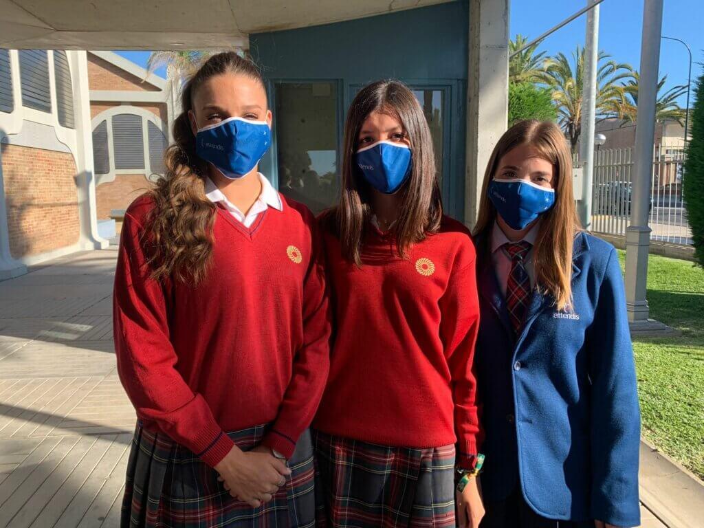 alumnas 2ºBachillerato Tierrallana-Entrepinos