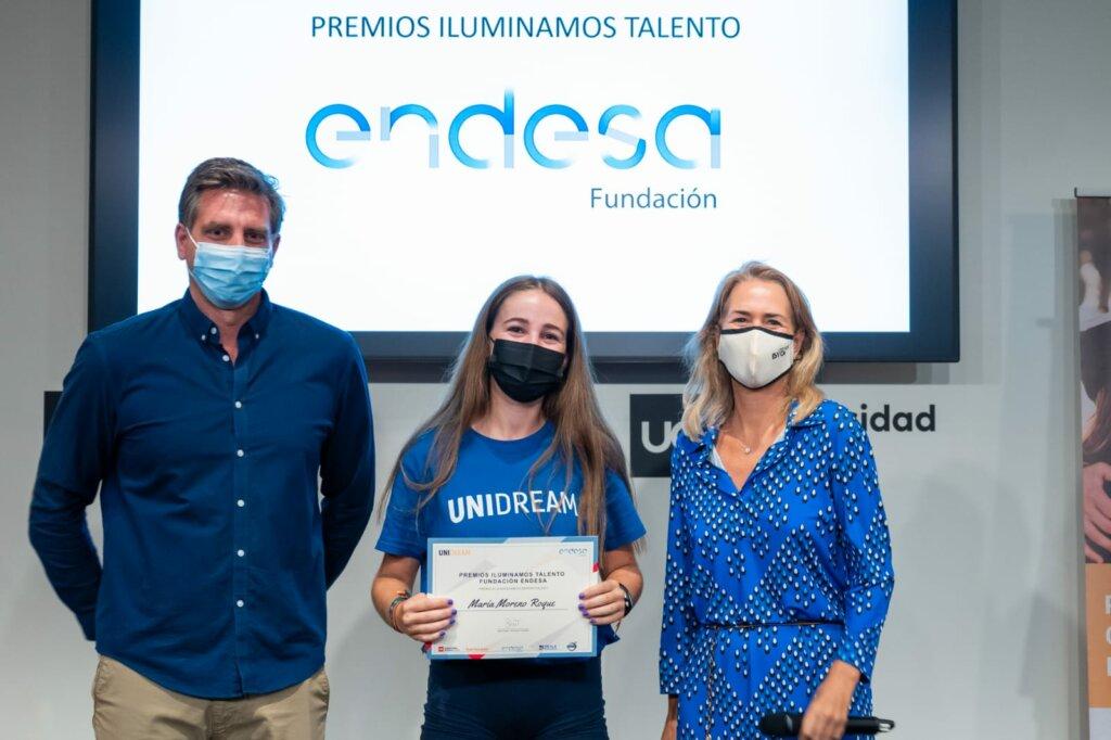 Maria Moreno. Ganadora Beca Deportiva Uni Dream