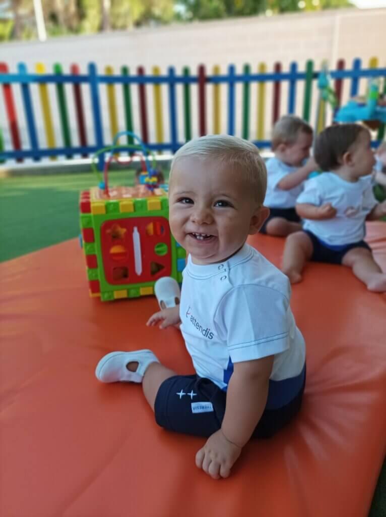 Alumno de Attendis Preschool en Grazalema