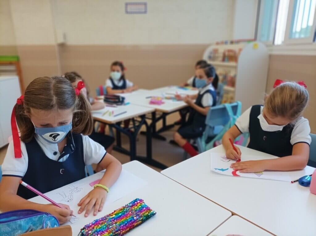 Alumnas PEP trabajando en Grazalema