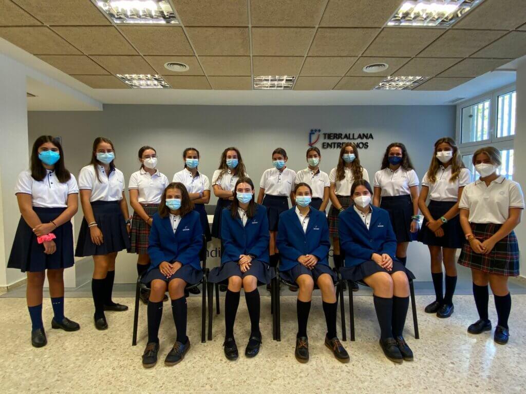 Alumnas de Tierrallana-Entrepinos cursando Dual Diploma