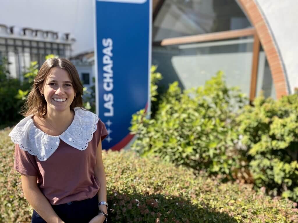 Macarena Cassillas, profesora de las Chapas-Ecos