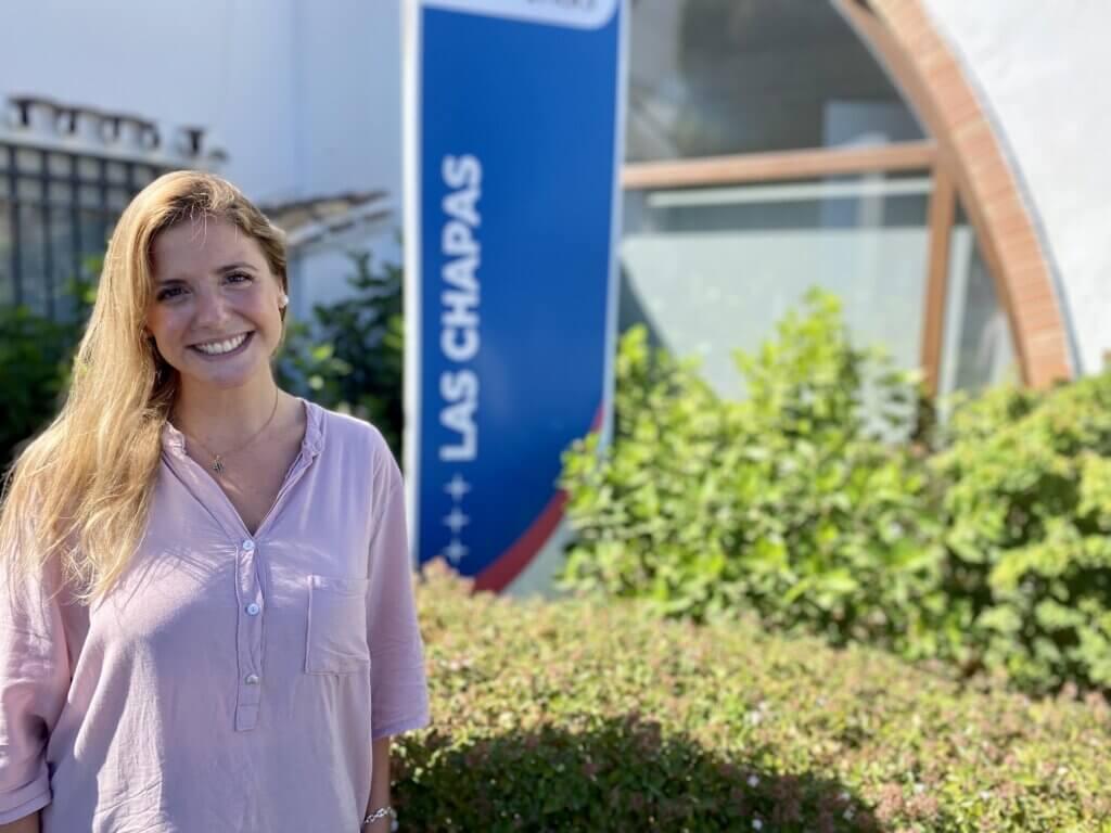 Araceli Dunes, profesora de Las Chapas-Ecos.